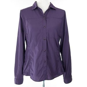 Purple REI Hiking/Travel shirt - S